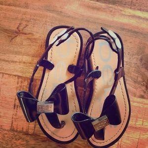 Bebe girl sandals